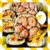 節分♪かわいいお花の恵方巻!デコ巻き寿司