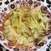キャベツと鶏むね肉の甘辛香ばし炒め
