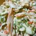 簡単☆キュウリとツナかにかまのサラダ