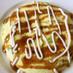 豆腐&卵のドーム型ヘルシーお好み焼き♡