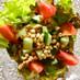 大豆のお肉のチョップドサラダ