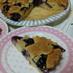秋の味覚 葡萄のアーモンドケーキ