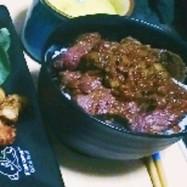 シャリアピンステーキ丼(食戟のソーマ)