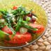 夏に食べたい!トマトの薬味のっけ
