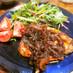 ◆豚ステーキ・特製玉ねぎバルサミコソース