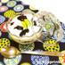 北海道♪ヨーグルトのベリーグラスケーキ