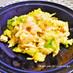 簡単中華!キャベツと海老のふわふわ卵炒め
