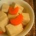 しみじみ高野豆腐の煮物
