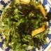 シャキシャキ豆苗の海苔ごまサラダ