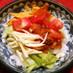 レンジで簡単!大豆タコミートのタコライス