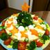 クリスマス♡ポテトサラダケーキ♡