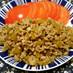 シャキシャキ蓮根&椎茸のそぼろ丼