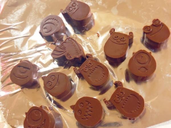 今話題の100均型で 簡単チョコレシピ