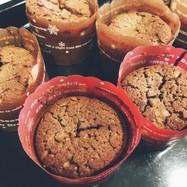 簡単チョコカップケーキ♡ガトーショコラ