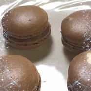 バレンタインにも! チョコレートマカロン