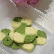 簡単2色のアイスボックスクッキー