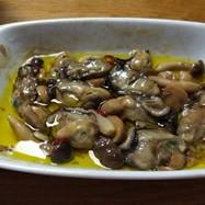 おもてなしに!牡蠣の簡単アヒージョ