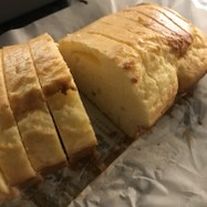 HMで生クリームパウンドケーキ