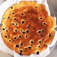 簡単*ブルーベリーベイクドチーズケーキ
