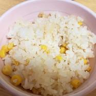 簡単☆炊飯器まかせ☆コーンご飯