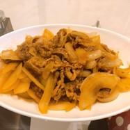 ✿牛肉と玉ねぎの甘辛炒め✿