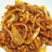 ■かんたん!豚肉と玉ねぎのケチャップ炒め