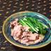 キャベツと豚バラの白だしさっと煮