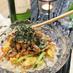豚バラとふわとろ卵のチラシ寿司