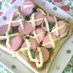 おさかなのソーセージのマヨネーズトースト
