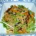 蓮根のきんぴらサラダ