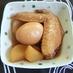 お酢でさっぱり♪手羽元と大根卵の煮物♪