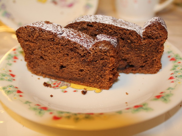 ホットケーキミックスで☆生チョコケーキ