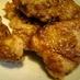 ウスターソースで、フワさく鶏むね唐揚げ♪