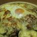 茄子カレーのチーズ焼