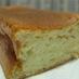 卵白とスライスチーズでチーズケーキ