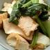 厚揚げと小松菜のスイートチリ炒め