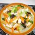 ちんげん菜と厚揚げの炒め物