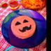 ハロウィンのジャックランタンケーキ寿司