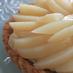 桃のカスタードタルト