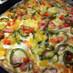 簡単にピザ生地から作るお家ピザで~す。♪