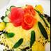 バレンタインや お祝いに お寿司ケーキ
