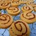 黒糖 うずまきクッキー