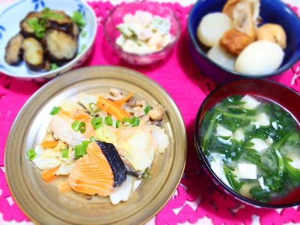秋鮭のちゃんちゃん焼きと素敵レシピ☆