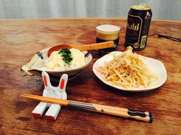 帰宅後もう1本ビール飲む〆晩酌♡(夜食)