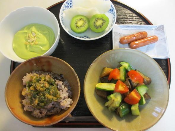 アボカドディップの朝ご飯☆