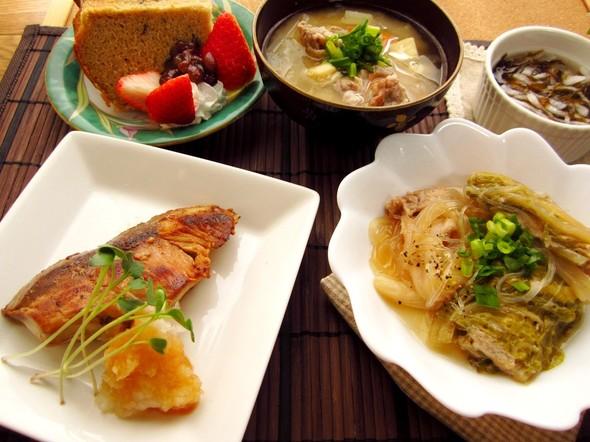 ほっこり和む和食な夕ご飯