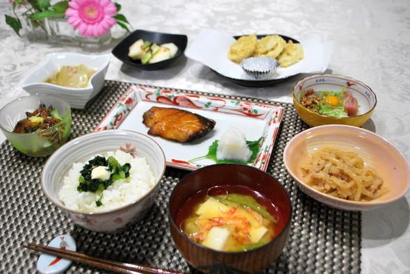 mielleの献立 月曜は和食の日☆彡