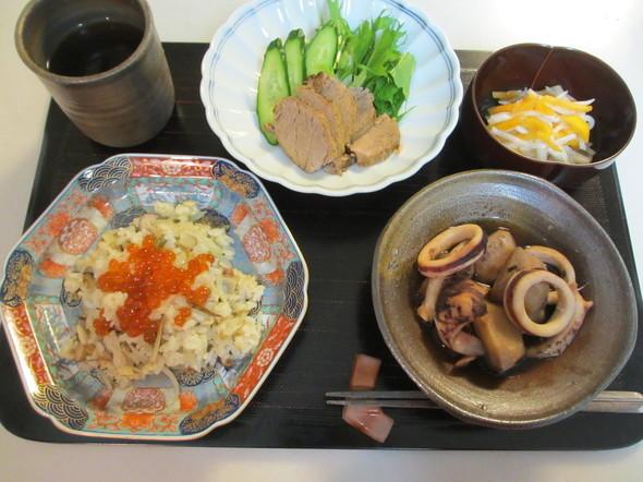 紅茶の煮豚☆晩ご飯