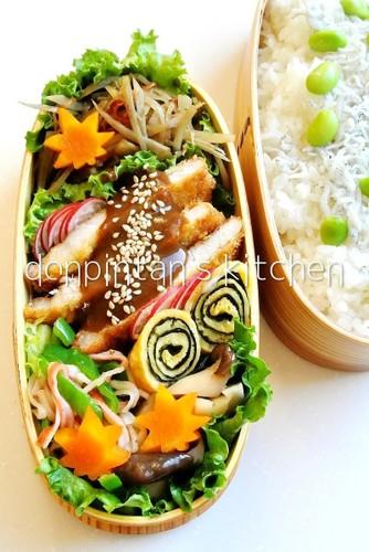 お弁当/味噌カツ