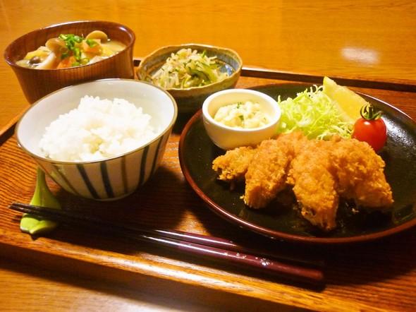 ✿旬の牡蠣&野菜たっぷり夕食✿